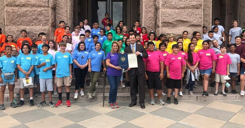 Westcliff Elementary School receives recognition for TX House